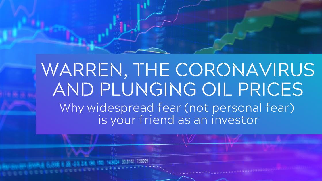 warren coronavirus oil prices