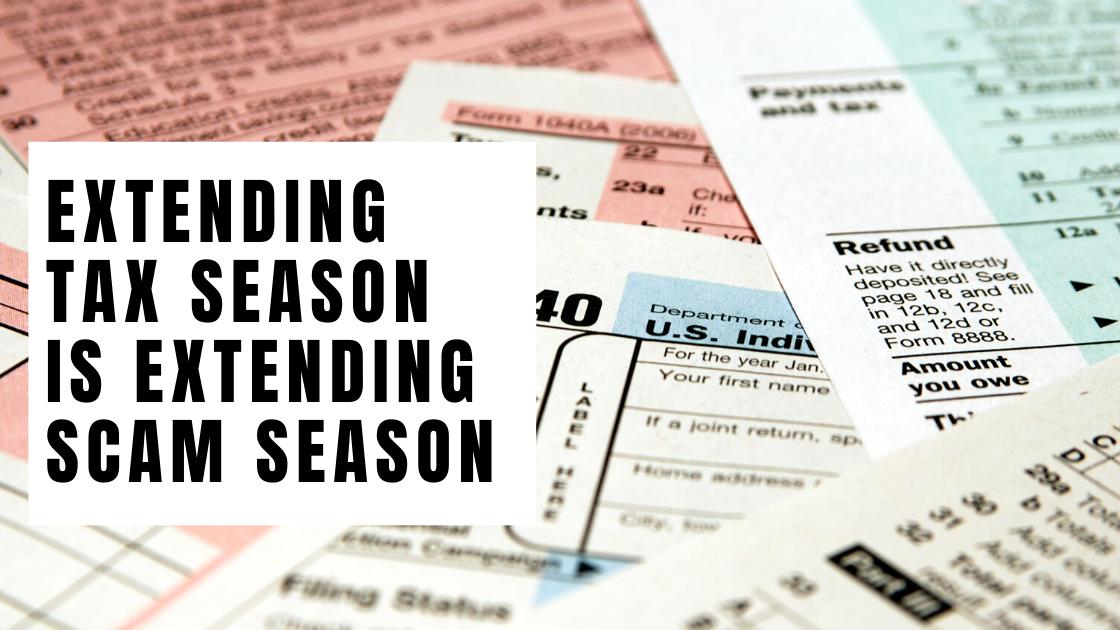 tax season tax scams