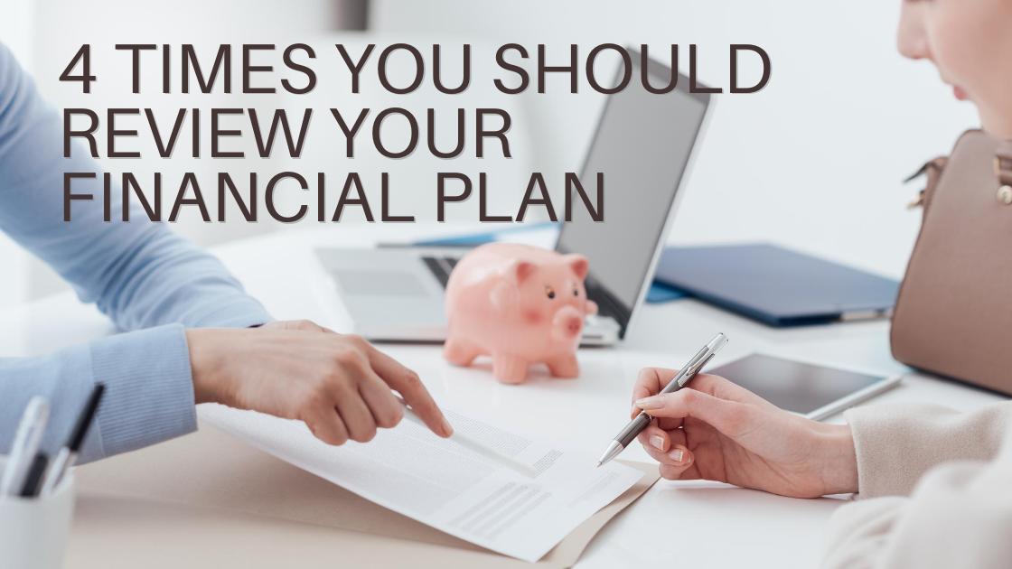 review financial plan