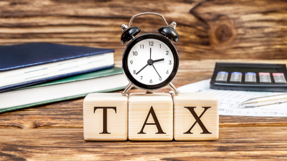 Header Tax Time